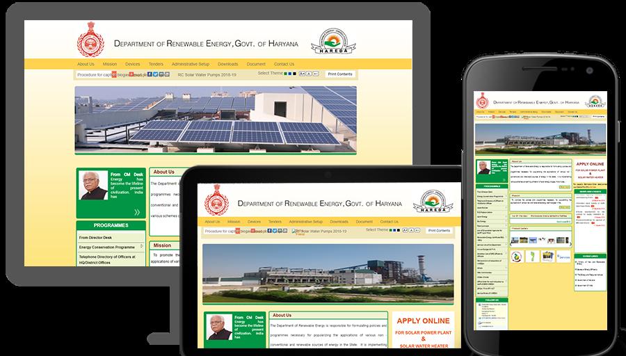 DEPARTMENT OF RENEWABLE ENERGY, HARYANA